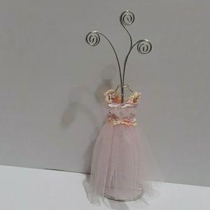 Princess Pink Dress Photo Holder